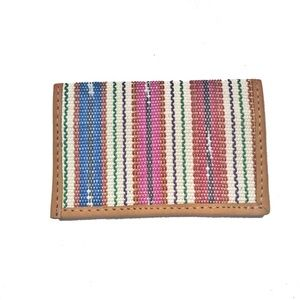 NWT Fair Trade Card Holder